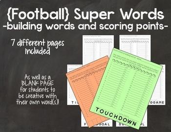 Football Super Words