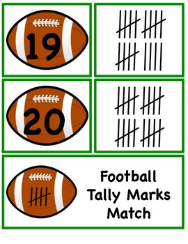 Football Tally Mark Match