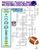 Football Teams Puzzle Page (Wordsearch and Criss-Cross)