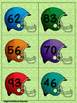 Place Value Football Tens and Ones to 99 Card Game