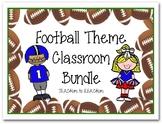 Football Theme Classroom Bundle