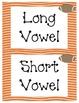 Football Theme - Long & Short Vowel Activities