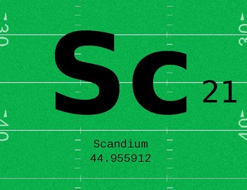 Football Theme Periodic Table Science Banner (Editable)