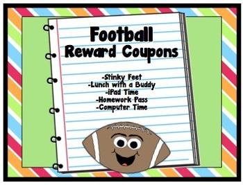 Football Theme Reward Coupons