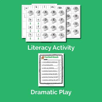 Football Theme Unit (Preschool or Homeschooling)