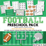 Football Activities Preschool (color and black & white version)