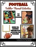 Football Themed Activities {Toddler/Preschool}