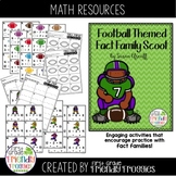 Addition and Subtraction - Football Themed - Scoot!