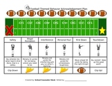 Football Behavior Plan - Editable!
