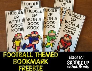 Football Themed Bookmark