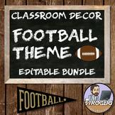 Football Themed Classroom Decor