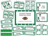 Football-Themed Classroom Decor