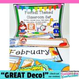 Football Classroom Decor: Football Themed Classroom