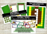 Football Themed Fraction Operations Room Transformation