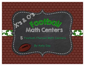 Football-Themed Math Center Games