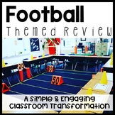 Football Themed Content Review Activity **Editable for any Subject** Test Prep