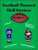 Football Themed Skills Pack for Grades 3-5