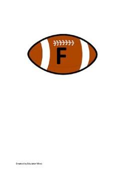 Football Themed Word Wall