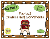 Football Worksheets Activities Games Printables and More