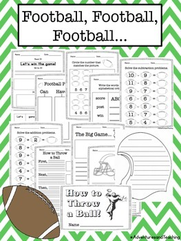 Football Unit {Craftivities & More}