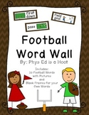 Football Word Wall Display