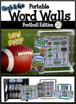 Football Word Walls: Sports Words, Printables, Thematic Writing Paper