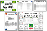 Football World Cup 2014 Display Poster Pack
