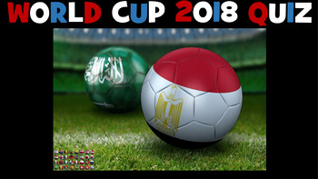 Football World Cup 2018 - 77 Question PowerPoint Quiz