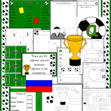 Football World Cup 2018 activity and display pack