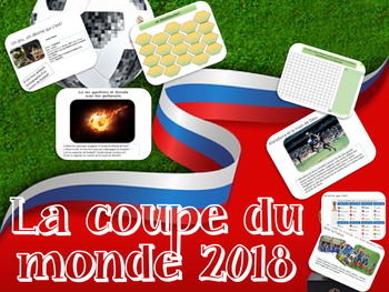 Interactive resource made for the World Cup in French