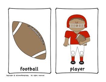 Football Write Around the Room