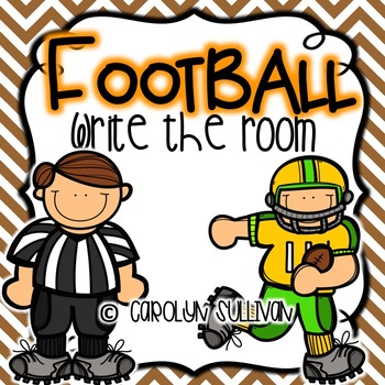 Football Write the Room