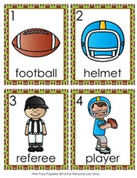 Football Write the Room Activity