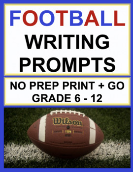 Football Writing Prompts