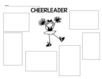 Football and Cheerleader Graphic Organizer