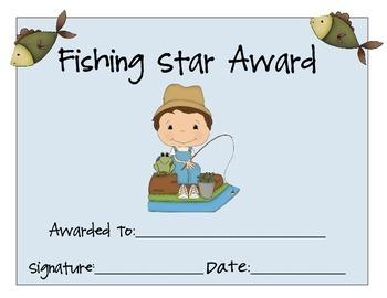 Football and Fishing Star Awards