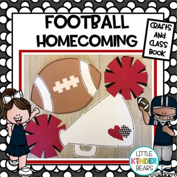 Football and Homecoming Craft and Class Book