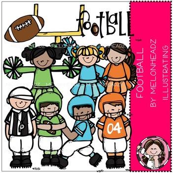Melonheadz: Football clip art