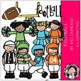 Football clip art - COMBO PACK- by Melonheadz