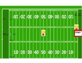 Football field token board