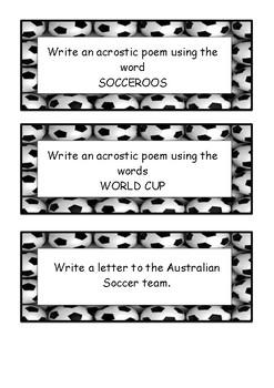 Football (soccer) World Cup Literacy