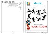 Football world Cup Medal Design