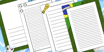 Football/World Cup Page Borders