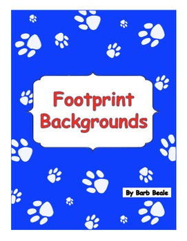 Footprint Backgrounds - 13 files