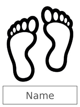picture about Footprint Printable named Footprint Printable w/College students Track record towards Line Up at the Doorway - Distinctive Schooling