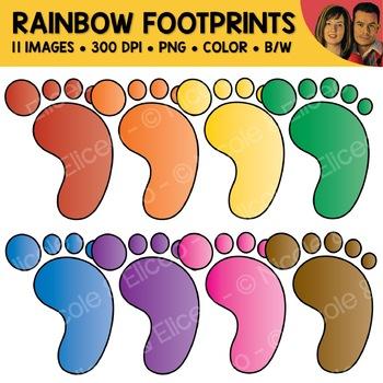 Footprint Clipart