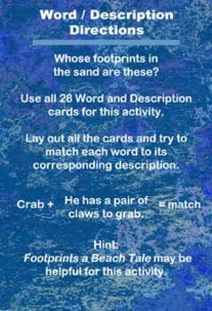 Footprints Educational Activity Cards
