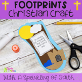 Footprints in the Sand Christian Craft