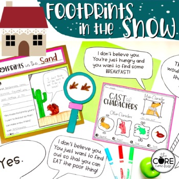 Footprints in the Snow Read-Aloud Activity