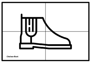 Shoe Coloring Page Worksheets Teaching Resources Tpt